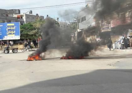 صور.. إصابتان و حالة من التوتر في رفح إثر مقتل شاب برصاص الأمن
