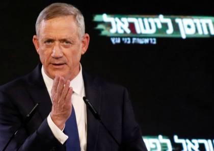 غانتس يعد بتعيين وزير فلسطيني في حكومته