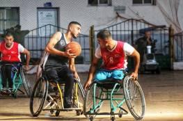 السلام بطلا لدوري السلة للكراسي المتحركة