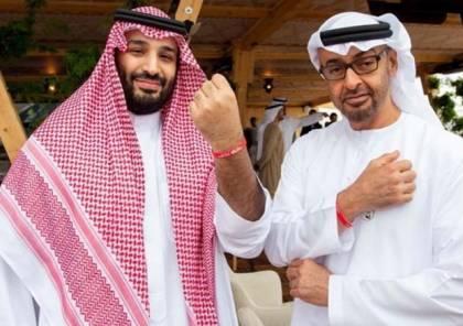 """محمد بن سلمان وولي عهد أبوظبي في جولة داخل """"مرسيدس"""" بالرياض... فيديو"""