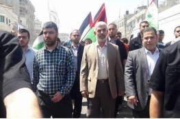 صور: انطلاق مسيرات حاشدة من كافة مناطق القطاع تضامنا مع الاسرى ورفضا للحصار