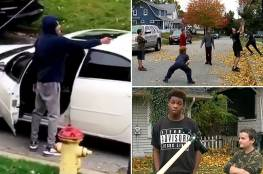 أمريكي يطلق النار على أطفال يلعبون كرة السلة... فيديو