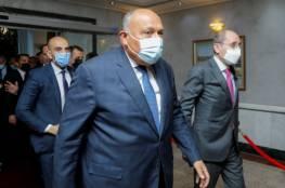 مصر والأردن : حل الدولتين واعمار غزة ووقف التصعيد
