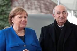 """ميركل تبعث رسالة """"اطمئنان"""" الي الرئيس الجزائري"""