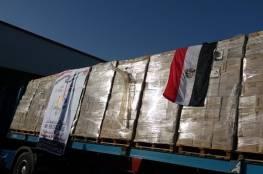 مساعدات طبية تصل غزة عبر معبر رفح