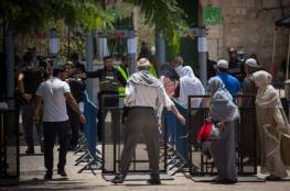 ما هو البديل الذي سيعرضه جنود الاحتلال الليلة عن البوابات الالكترونية بالاقصى ؟