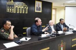 سلفيت: اجتماع يبحث تنظيم وتوحيد جهود لجان الطوارئ المحلية