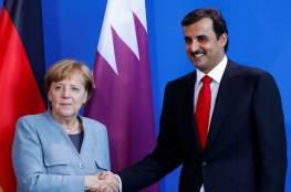 ميركل تشكر أمير قطر على دور بلاده في أفغانستان