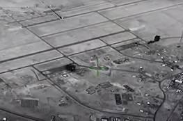 مشاهد تعرض للمرة الأولى توثق الضربة الإيرانية لقاعدة عين الأسد في العراق