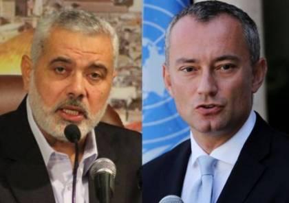 """إسرائيل تبلغ ميلادينوف بعدم رغبتها في التصعيد والوفد المصري حمل اجابات محدودة لـ""""حماس"""