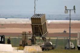 """جيش الاحتلال يرفع حالة التأهّب في كتيبة تشغيل """"القبة الحديدية"""""""