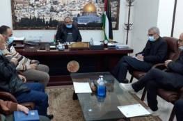 """""""الأشغال"""" بغزة تبحث وضع المؤسسات الهندسية في ظل الظروف الراهنة"""