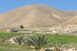 الاحتلال يهدم 4 برك زراعية شمال أريحا