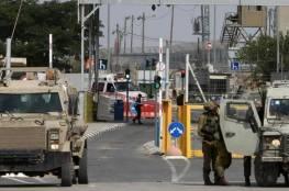 الاحتلال يفرض إغلاقاً على الضفة وغزة ويشدد حصار القدس حتى الثلاثاء