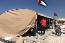 إعادة بناء مدرسة جب الذيب التي هدمها الاحتلال في بيت لحم