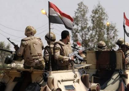 مقتل 5 جنود مصريين بعبوة ناسفة شمال سيناء