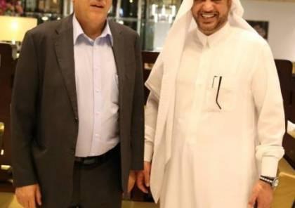 اللواء الرجوب يتلقى رسالة تضامن من الأمير طلال بن بدر