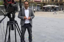 """الصحفي الفلسطيني معاذ حامد يكشف عن فحوى أسئلة """"الموساد"""" له في مدريد"""