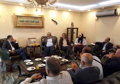 اتحاد رجال الاعمال الفلسطيني التركي يستقبل وفدا فلسطينيا