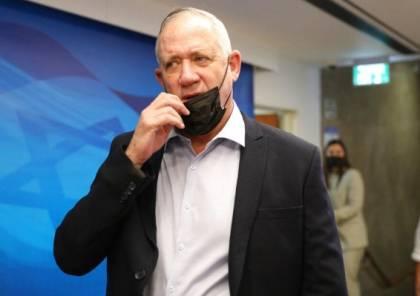غانتس: لا نية لدينا بالتوصل لاتفاق مع الفلسطينيين.. وأبو مازن غير قادر على اتخاذ قرارات تاريخية
