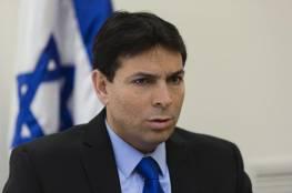 دانون : على زعماء العرب ان يجاهروا بعلاقاتهم مع اسرائيل