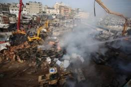 """""""المتابعة الحكومية"""" بغزة: 2000$ لكل عائلة شهيد من ضحايا حريق النصيرات"""