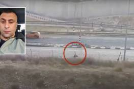 """فيديو : إطلاق نار إسرائيلي """"غير مبرر"""" راح ضحيته فلسطيني في مقتبل العمر"""