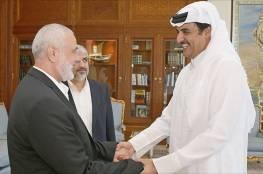 أمير قطر يبلغ هنية تخصيص مبلغ 2 مليون دولار للأضرار في النصيرات
