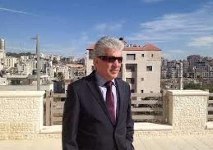 اجهزة امن حركة حماس تداهم مكتب مستشار ميلادنوف باسم الخالدي في دير البلح