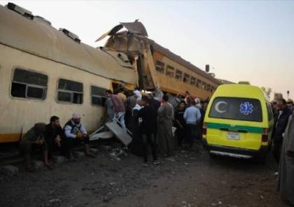 مصر: 9 إصابات جراء انحراف  قطار عن مساره