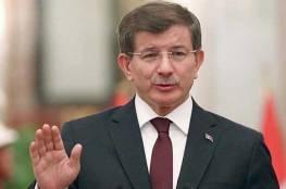 """داود أوغلو يكشف """"تفاصيل حساسة"""" عن سبب تأخر التدخل العسكري التركي في سوريا"""