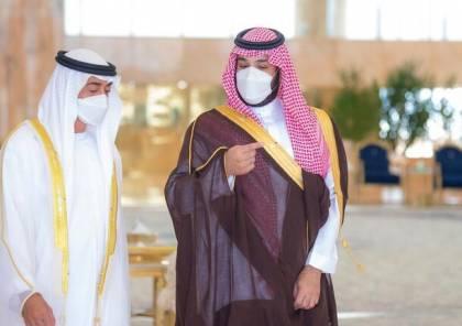 بن سلمان يستقبل ولي عهد أبوظبي محمد بن زايد في الرياض