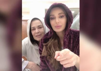 سيرين عبد النور تعايد الأمهات وتدعو للبقاء في البيت