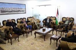 بالصور.. تفاصيل اجتماع قيادة حماس والجبهة الديمقراطية في غزة