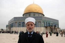 مفتى القدس: استخدام القوة مهما بلغت لن يغير واقع المسجد الأقصى