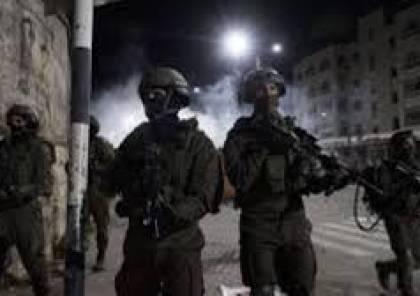 مواجهات و اعتقالات باليامون غرب جنين