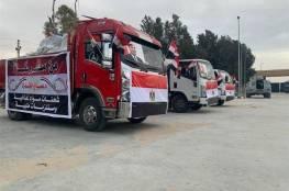الهلال الأحمر المصري يقدم مساعدات طبية لقطاع غزة