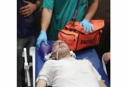 تدهور الحالة الصحية للاسير نضال ابو عاهور بعد الافراج عنه