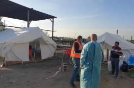 قلقيلية: نصب خيام لفحص العمال قبل دخولهم للمدينة