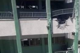 التعليم بغزة: الاحتلال الاسرائيلي يقصف 3 مدارس بشكل مباشر