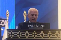 الأحمد: شعبنا يسعى للعيش بسلام في دولته المستقلة وعاصمتها القدس