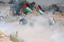 إصابات بالرصاص بعد قمع الاحتلال مسيرات مناهضة للاستيطان في الضفة