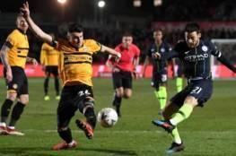 مانشستر سيتي يتأهل إلى ربع نهائي كأس الاتحاد الإنجليزي