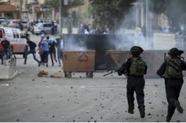 ارتفاع عدد الإصابات في نابلس جراء المواجهات مع الاحتلال إلى 90