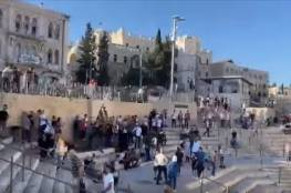اعتقال 3 مواطنين وإصابة آخرين في القدس خلال وقفة منددة بالإساءة للرسول