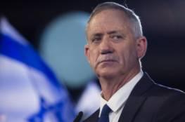 غانتس: إسرائيل تعيش فترة حساسة للغاية في ظل أزمة كورونا