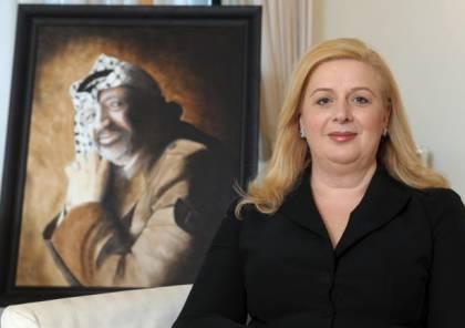 """ردا على تصريحاتها.. """"فتح"""" تطالب سهى عرفات بالابتعاد عن الخوض بتفاصيل السياسة ومتغيّراتها"""