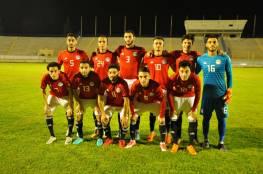 تحديد موعد مباراة فلسطين والأولمبي المصري