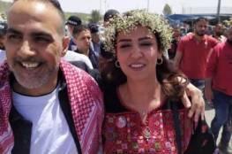 الاسير عاصم الكعبي من مخيم بلاطه حرُّ بعد قضائه 18 عاما خلف القضبان