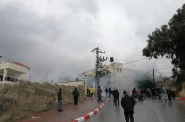 اندلاع مواجهات مع قوات الاحتلال في بلدة الخضر